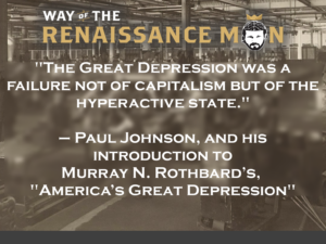 Depression-Era Historical Analysis-Paul Johnson